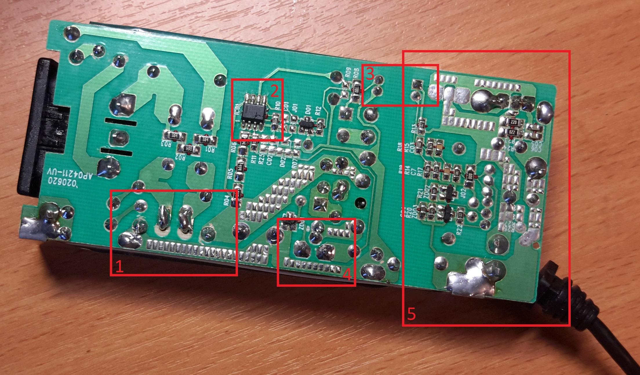 cамая простая схема с транзистором